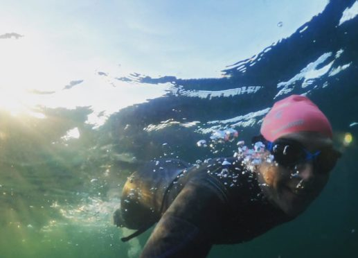 Norma MacLeod, a cardiac nurse from Stornoway, has launched the new venture taking thrill seekers on an adventure through the Hebrides cold waters