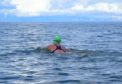 Rebecca Campbell Wilson during her training for the English Channel swim this year