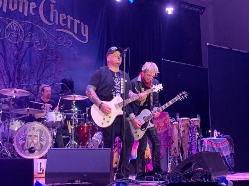 Black Stone Cherry took to The Music Hall stage.