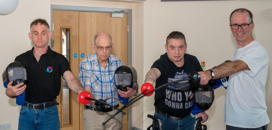 Fencing classes arranged in Moray to improve mental and physical health of vulnerable residents
