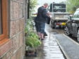 Residents waded out to unblock the drains