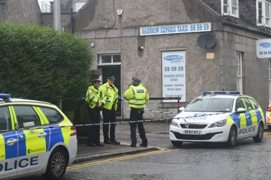 Police have said there are no suspicious circumstances surrounding the death of a man in Aberdeen.