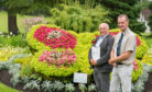 Beautiful Scotland judges Sandy Scott and Adrian Miles.