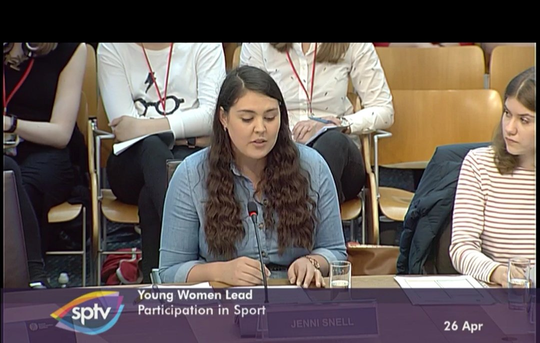 Aberdeen graduate highlights barriers preventing young women from taking up sport | Press and Journal