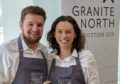 Sandy Matheson and Kirstie Nisbet of Granite North gin