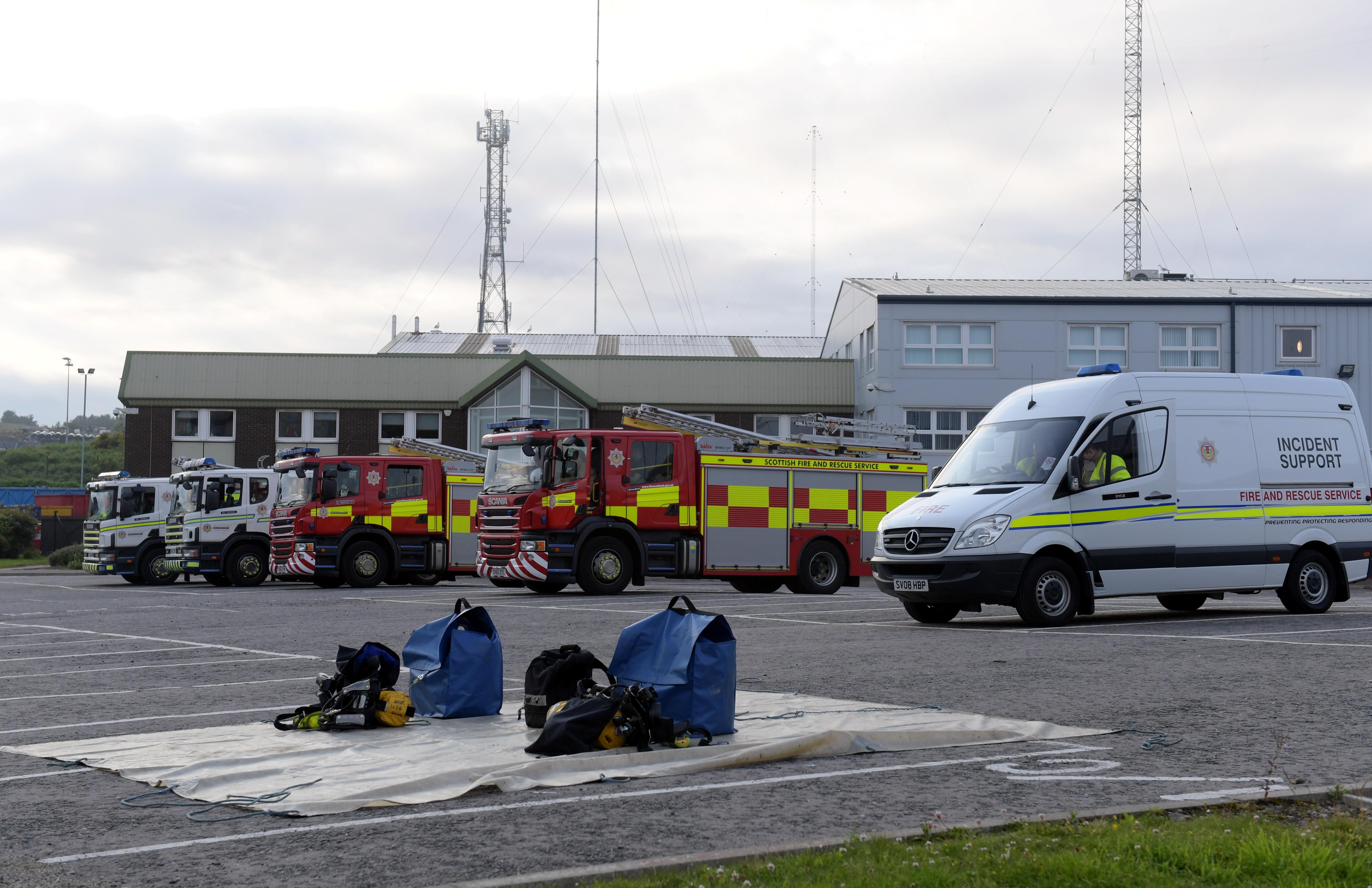Fear of 'hazardous substance' forced Aberdeen mail depot shut after workers took ill
