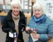 Mr Thomson's daughters Helen Forbes and Sandra Hutton have delivered the medals to the exhibition centre in Aultbea