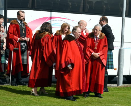 Mourners pay tribute at funeral of Aberdeen councillor