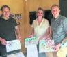 Duncan Barton, Annie Kenyon and Nick McLean.