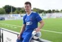 Cove Rangers midfielder Jamie Redman.
