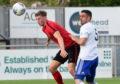 Cove Rangers defender Scott Ross (right).