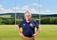 Deeside Rugby Club president Ian Finlayson. Picture by Scott Baxter