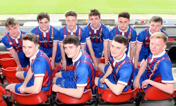 Nine Caley Thistle youngsters have joined Fort William on loan.