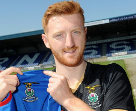 Inverness Caley Thistle signing David Carson.