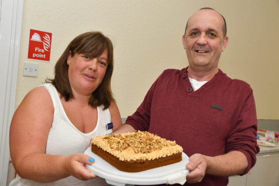 Piece of cake for bake-off contestants at Peterhead Scottish