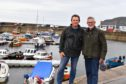 BOB HOLLIMAN (L) FROM THE GARDENSTOWN COMMUNITY HUB AND ANDY STURDY FROM THE GARDENSTOWN VILLAGE ACTION COMMITTEE WILL BE INVOLVED IN THIS YEARS HARBOUR GALA DAY.