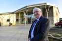 Councillor Norman Smith at the MACBI community hub, where the library will move.