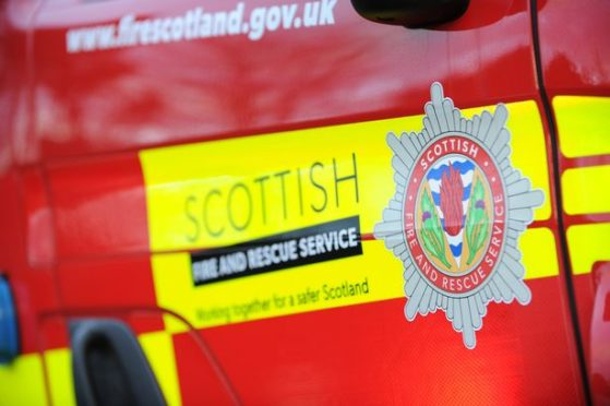 Firefighters rescue dog trapped in Aberdeen | Press and Journal