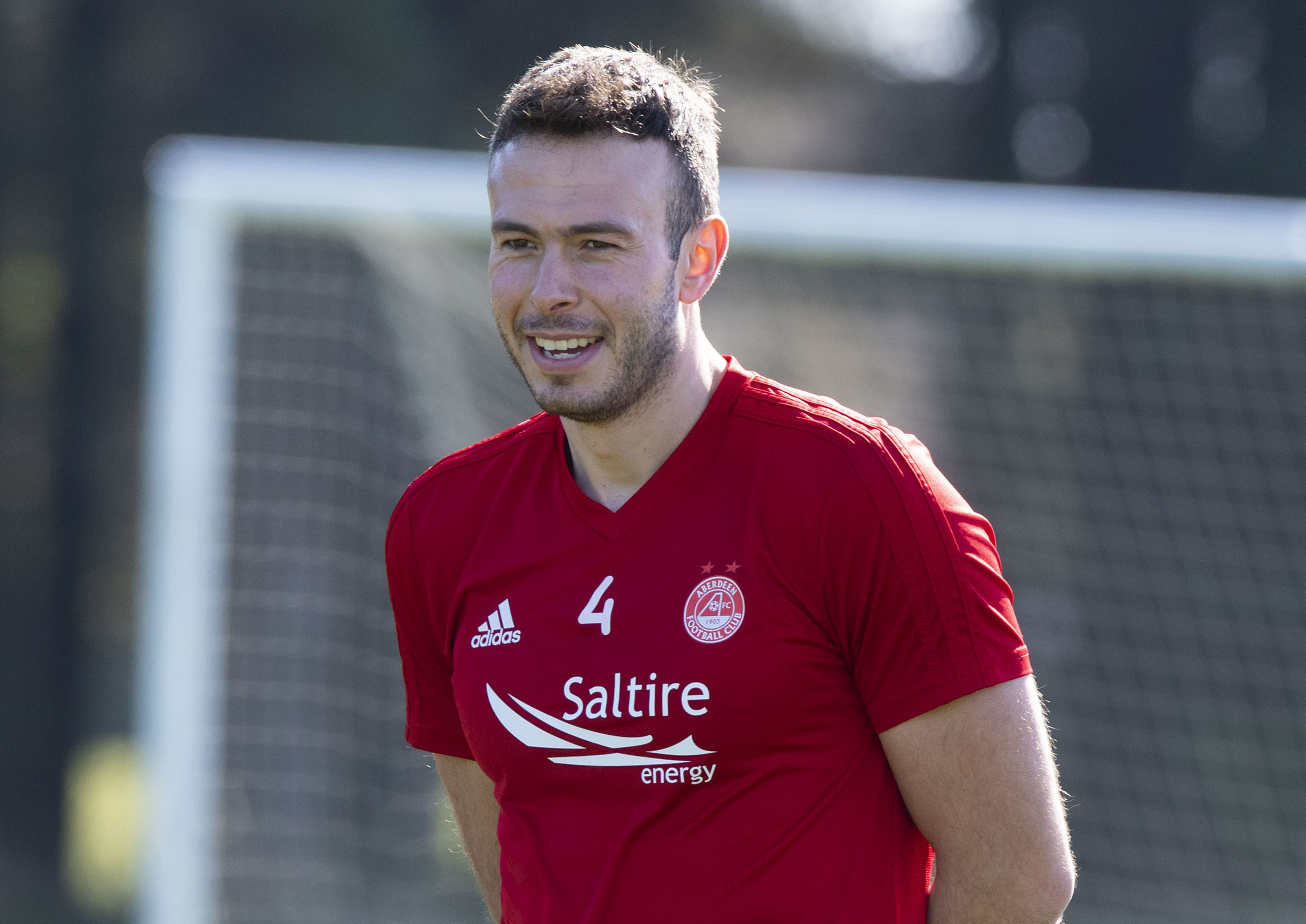 Sound of silence does not faze Andy Considine as Aberdeen
