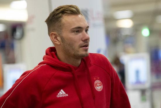 New Aberdeen midfielder Ryan Hedges.