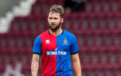 James Keatings in action for Inverness.