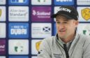 Scotland's Russell Knox addresses the media ahead of the Scottish Open.