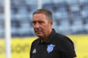 Jim McInally's side were beaten 2-1 by Airdrieonians.