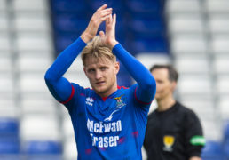 Caley Jags still awaiting confirmation of Donaldson departure to Staggies
