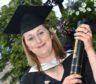 Sophie Allardes completed her media degree at RGU.