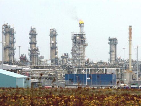 St Fergus gas plant near Peterhead