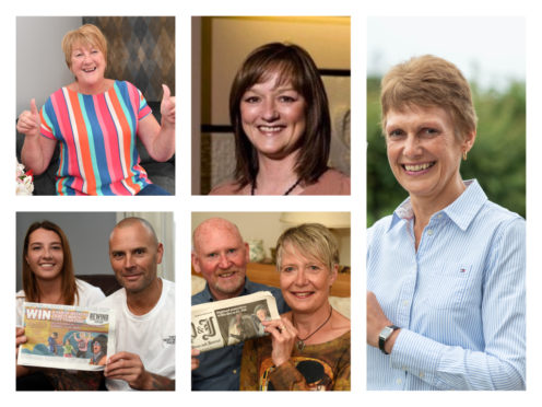 The five lucky Rewind tickets winners