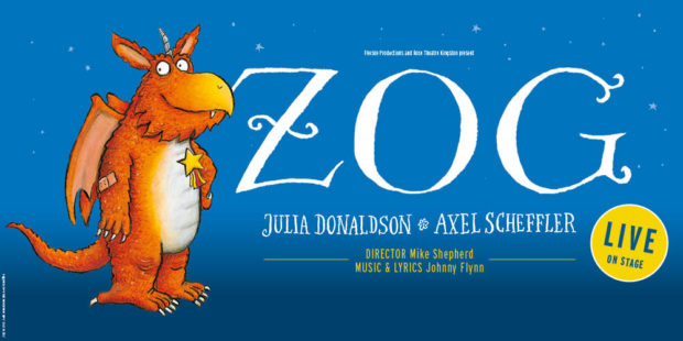 Zog took to the stage at His Majesty's Theatre in Aberdeen.