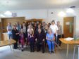 Staff and residents at Seaforth House celebrating another glowing report after an unannounced visit from the Care Inspectorate.