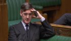 "Brexit urgent question - Tory Brexiteer Jacob Rees-Mogg tells the minister the House voted for the ""entire removal of the backstop"" from the withdrawal agreement. He asked him: ""Does it not, at the very least, strike my right honorable friend as incongruous that it is harder to leave the backstop than it is to leave the European Union under Article 50?"" Robin Walker said Mr Rees-Mogg had made ""an interesting point"", but that the government had heard the House ""loudly and clearly"", and he was confident they would come forward with a proposal that ""even he"" can support. Picture: HOC/Universal News And Sport (Europe) 11/03/2019"
