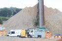 A man was injured at Methlick Quarry. Pic Newsline