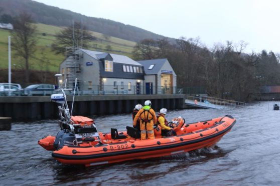 Loch Ness lifeboat launched over concern for canoeists | Press and Journal