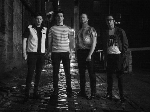 The Aberdeen band Pages, From left to right: Matt Fraser, vocals and guitar, Alistair McKinlay, bass, Jack Lovie, lead guitar and Kyle Robertson-Smith, drummer.