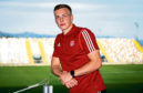 07/08/19 HNK RIJEKA STADIUM RUJEVICA - RIJEKA Aberdeen's Lewis Ferguson previews his sides Europa League qualifier against HNK Rijeka tomorrow night.