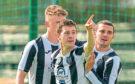 Fraserburgh Sean Butcher celebrates his goal.
