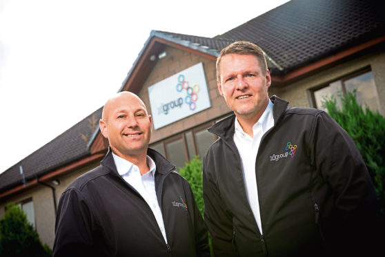 Richard Dodunski, left, and Mike Fergusson become operations director and UK sales director, respectively
