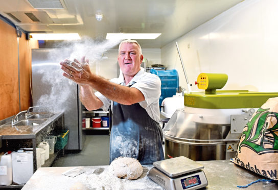 Bread maker chief executive Donald Anderson. Picture by Scott Baxter