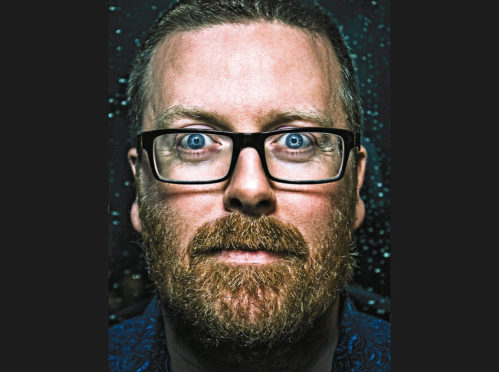 Frankie Boyle talks Findhorn, Doric and Aberdeen in the 90s as he heads out on his first Scottish tour since 2008 | Press and Journal