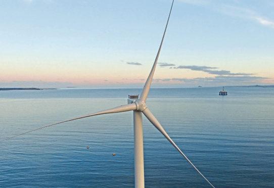 Levenmouth demonstration turbine.