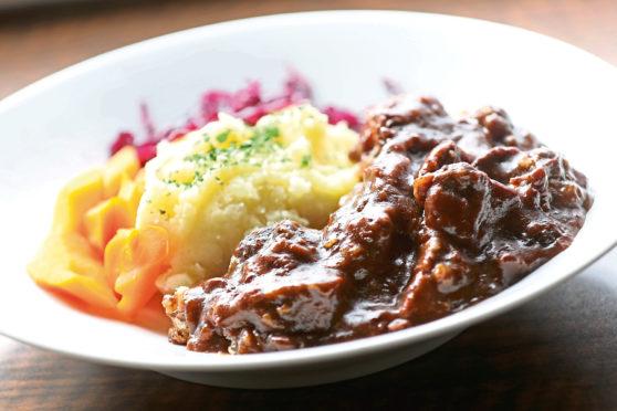 Venison stew.