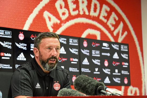 On Red alert for backlash: McInnes warns Dons not to underestimate recovering Killie outfit | Press and Journal