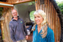 Graham Anderson and his wife Sonia Whittington of Loch Ness Glamping, Drumnadrochit. Picture by Sandy McCook