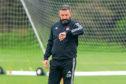 14/08/19 ABERDEEN TRAINING THE BARRACKS - ABERDEEN Aberdeen manager, Derek McInnes.