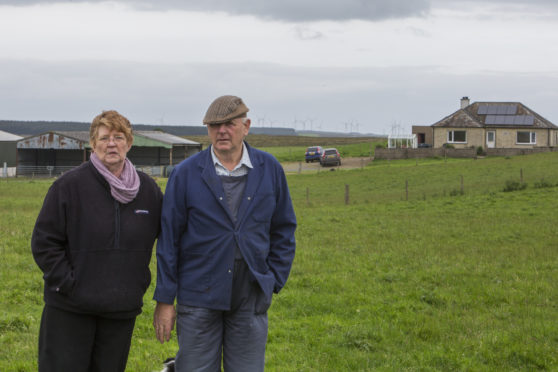 Caithness farmers claim noise from surrounding wind farms is making them ill