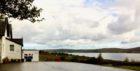 Badcaul Primary School, looking over Little Loch Broom.