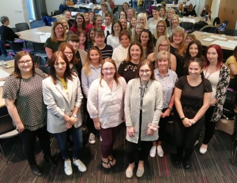 More than 40 staff have been hired to work in Moray nurseries.